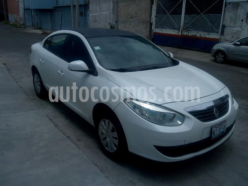 Renault Fluence Authentique usado (2012) color Blanco precio $85,000