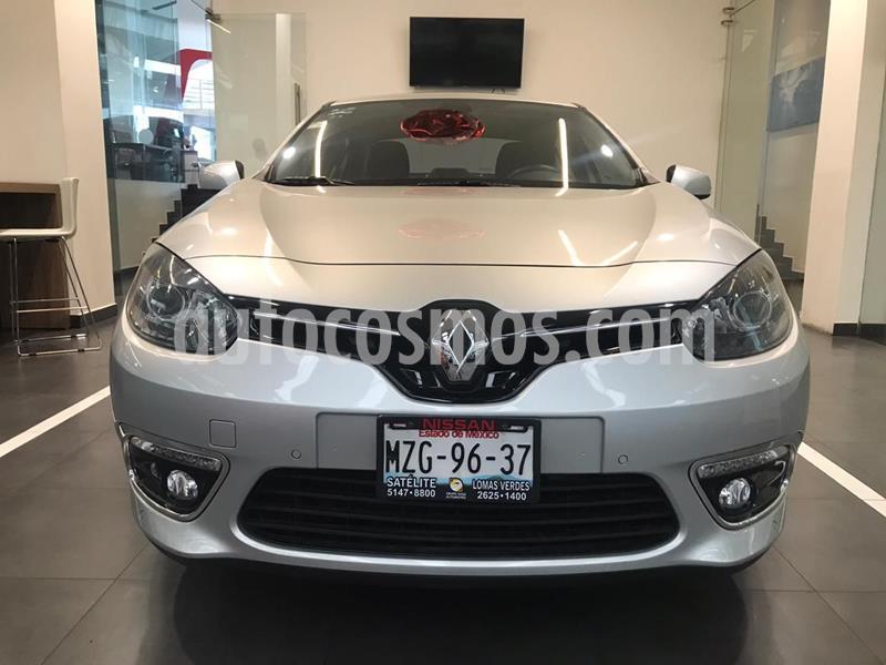 Renault Fluence Privilege CVT usado (2016) color Plata Dorado precio $210,500