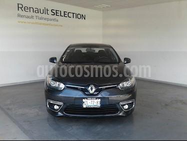 Renault Fluence Expression usado (2017) color Gris precio $189,000