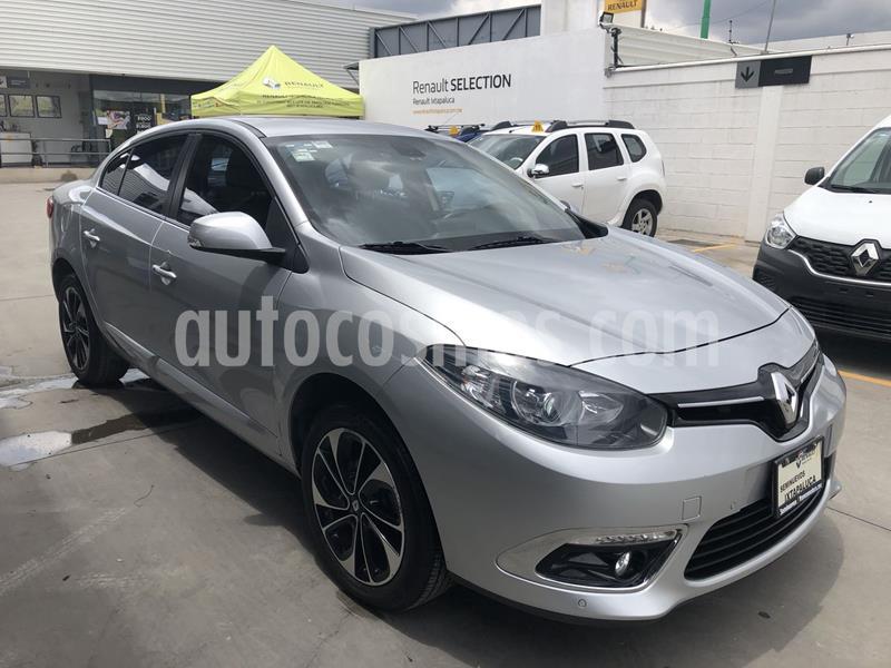 Renault Fluence Privilege CVT usado (2017) color Plata precio $215,000