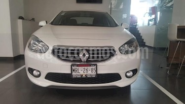 Renault Fluence 4P EXPRESSION AT A/AC. F. NIEBLA RA-16 usado (2014) color Blanco precio $139,900