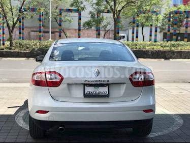 Renault Fluence 4p Dynamique L4/2.0 Aut usado (2015) color Blanco precio $155,000