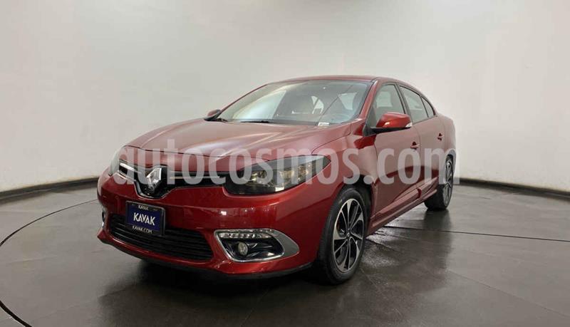 Renault Fluence Dynamique CVT usado (2017) color Rojo precio $212,999