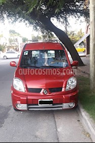 Foto venta Auto usado Renault Kangoo 2 Break 1.6 Authentique Plus 2P 7 Pas (2009) color Rojo Vivo precio $250.000