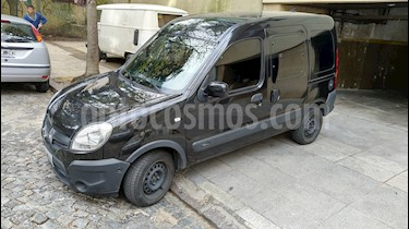 Renault Kangoo 2 Break 1.6 Authentique Plus usado (2014) color Negro Nacre precio $419.997