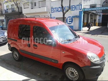 Renault Kangoo 2 Express 1.6 Confort 2P 5 Pas usado (2016) color Rojo Vivo precio $460.000