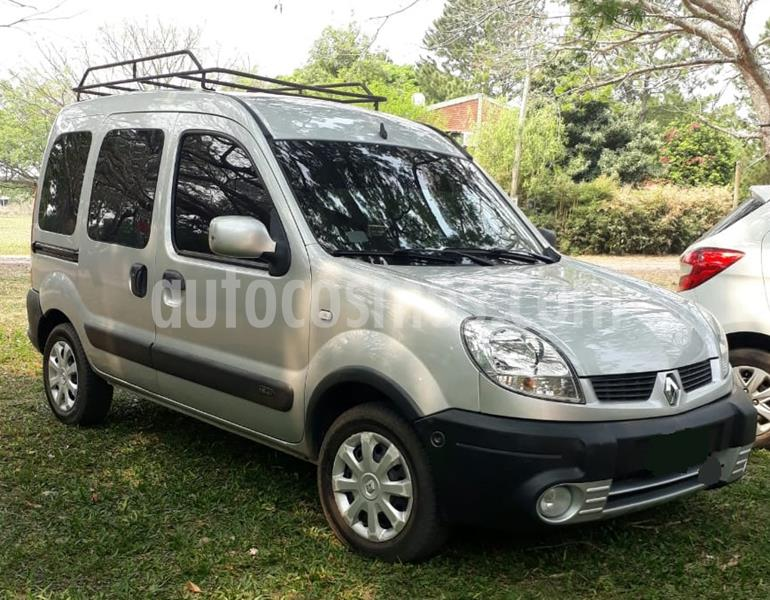 Renault Kangoo 2 Break 1.6 Authentique Plus usado (2013) color Gris precio $69.000