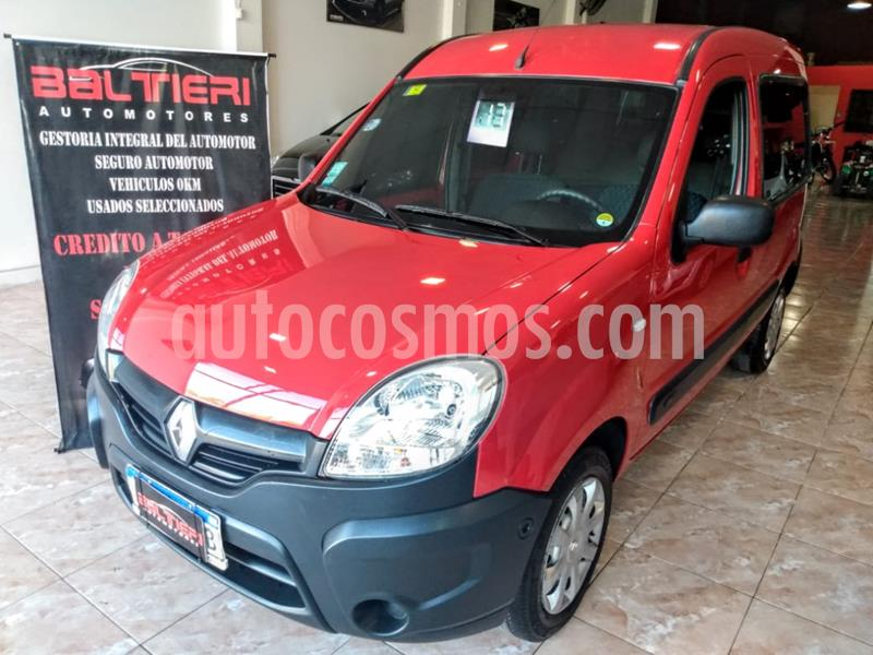 Renault Kangoo Kangoo Express 1.6 usado (2017) color Rojo precio $1.130.000