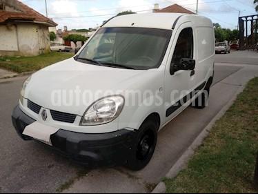 Renault Kangoo 2 Express 1.6 Confort 1P usado (2013) color Blanco Glaciar precio $295.000