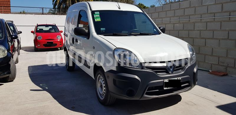 Renault Kangoo 2 Break 1.6 Authentique  usado (2016) color Blanco Glaciar precio $870.000