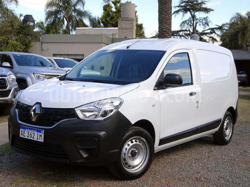 Renault Kangoo 2 Express 1.6 Confort 1P usado (2020) color Blanco Glaciar precio $1.657.000