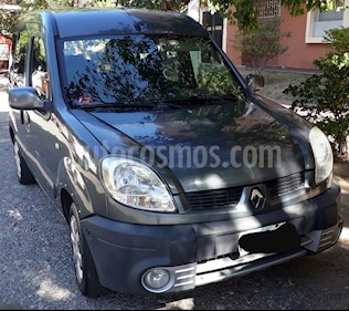 Renault Kangoo 2 Break 1.6 Authentique Plus 2P 7 Pas usado (2011) color Gris precio $399.000