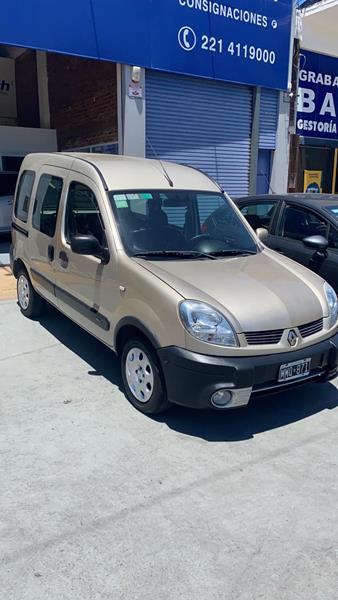 Renault Kangoo 2 Break 1.6 Authentique Plus usado (2013) color Bronce precio $850.000