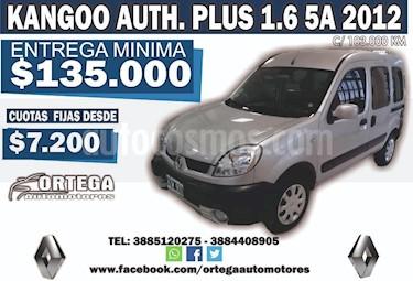 Foto venta Auto usado Renault Kangoo Kangoo Express 1.6 (2012) color Gris Claro precio $245.000