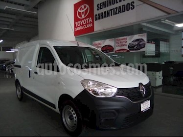 Renault Kangoo 4P INTENS 148 HP AT A/AC. usado (2019) color Blanco precio $190,000