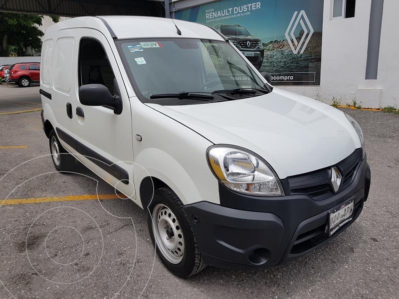 Foto Renault Kangoo 4 pts. Express, 110 HP, TM5, a/ac., ABS usado (2018) color Blanco precio $187,000