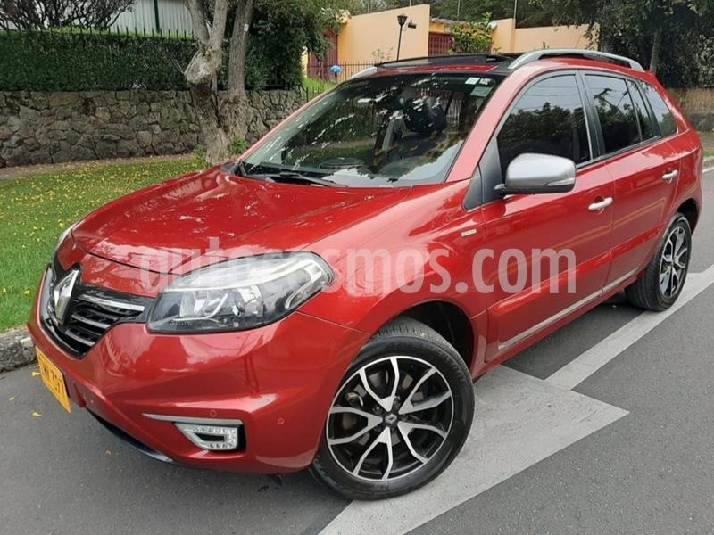 Renault Koleos Bose 4x2 CVT  usado (2016) color Rojo Maple precio $52.900.000
