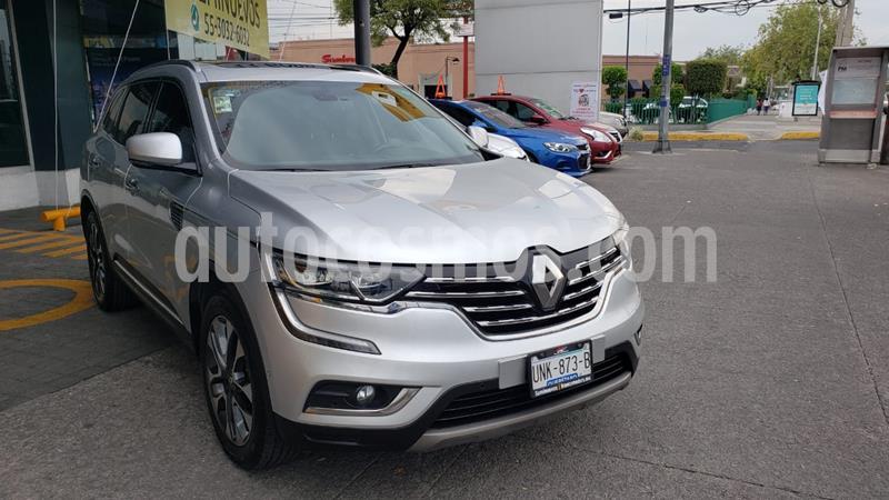 Renault Koleos Iconic usado (2018) color Plata precio $360,000