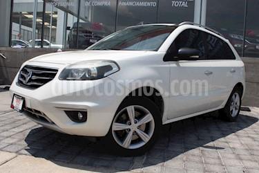 Renault Koleos 5p Dynamique CVT piel usado (2013) color Blanco precio $163,000