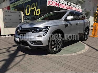 Renault Koleos 5p Iconic L4/2.5 Aut usado (2018) color Plata precio $379,000