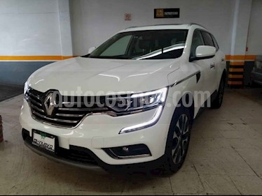 Renault Koleos 5p Iconic L4/2.5 Aut usado (2018) color Blanco precio $389,000