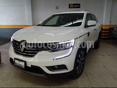 Renault Koleos 5p Iconic L4/2.5 Aut usado (2018) color Blanco precio $385,000