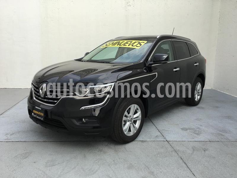 Renault Koleos Intens usado (2018) color Negro precio $380,000