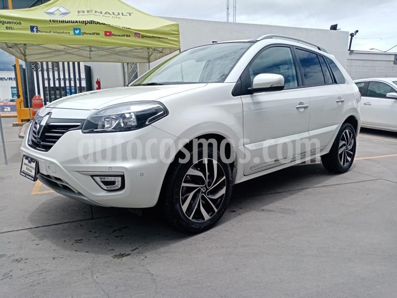 Renault Koleos Privilege Aut usado (2016) color Blanco Perla precio $225,000