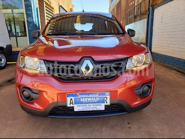 Renault Kwid - usado (2018) color Bordo precio $530.000