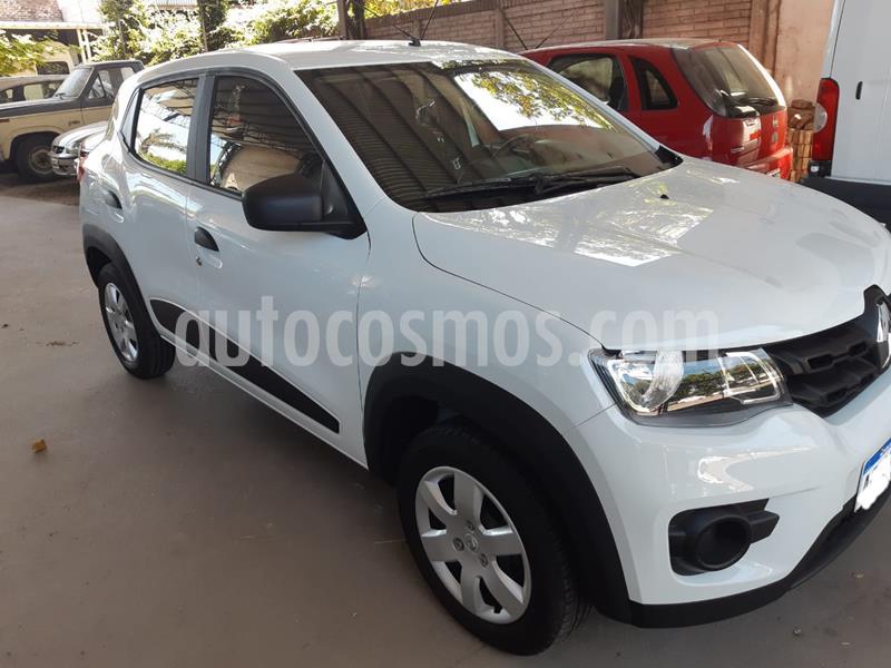 Renault Kwid Zen usado (2018) color Blanco Glaciar precio $690.000