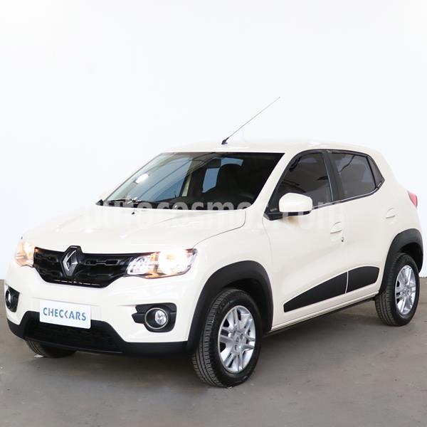 Renault Kwid Intens usado (2018) color Blanco Marfil precio $754.800