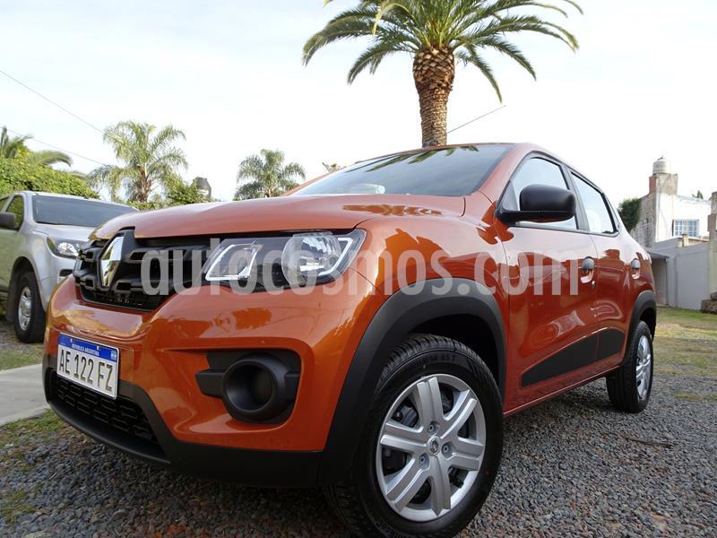 Renault Kwid Zen usado (2020) color Naranja precio $885.000