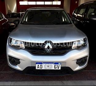 Renault Kwid Life usado (2019) color Gris Claro precio $740.000