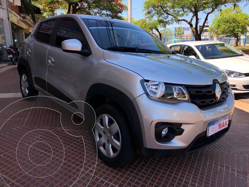 Renault Kwid Iconic usado (2018) color Gris Estrella precio $1.069.990