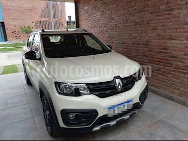 Renault Kwid Outsider usado (2019) color Blanco Marfil precio $618.000
