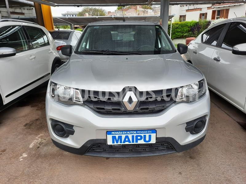 Renault Kwid Zen usado (2018) color Gris precio $820.000