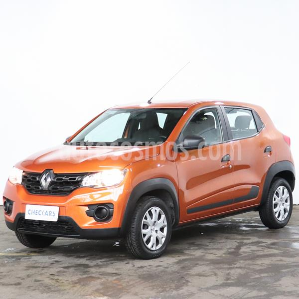 Renault Kwid Life usado (2018) color Naranja precio $918.000