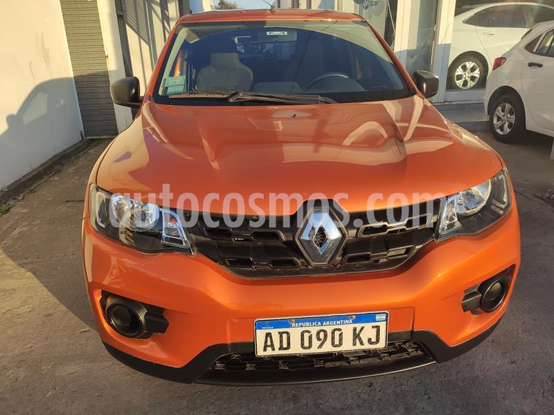 Renault Kwid Zen usado (2018) color Naranja precio $695.000