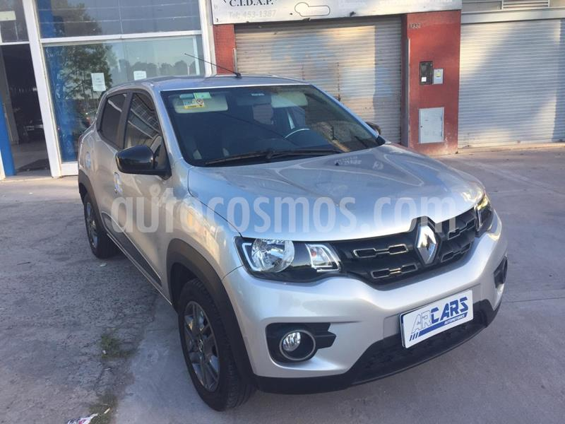 Renault Kwid Zen usado (2018) color Gris Estrella precio $969.000