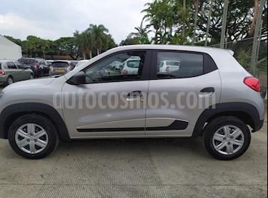 Renault Kwid Life  nuevo color Plata precio $34.050.000