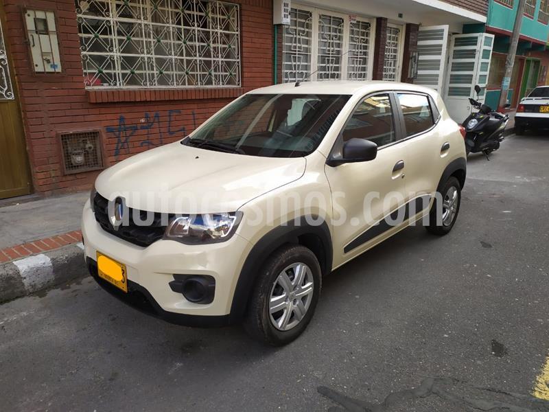 Renault Kwid Zen  usado (2020) color Blanco Glaciar precio $31.700.000