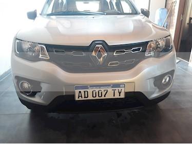 Renault Kwid Iconic usado (2018) color Gris Estrella precio $575.000