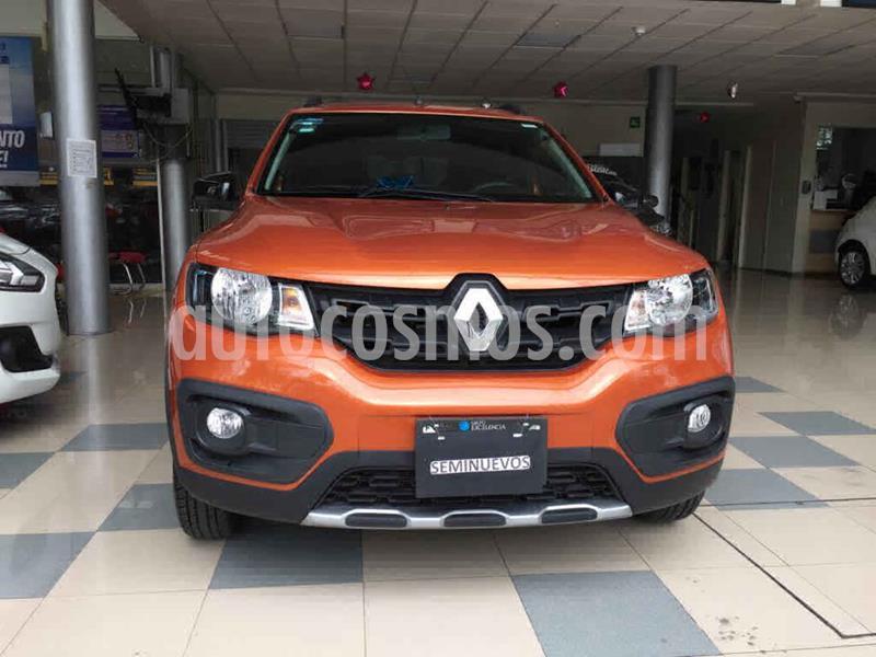 Renault Kwid Outsider usado (2019) color Naranja precio $180,000