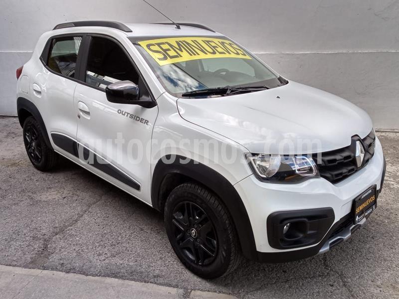 Renault Kwid Outsider usado (2019) color Blanco Glaciar precio $175,000