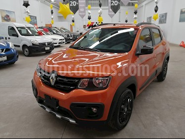 Renault Kwid Outsider usado (2019) color Naranja precio $175,000