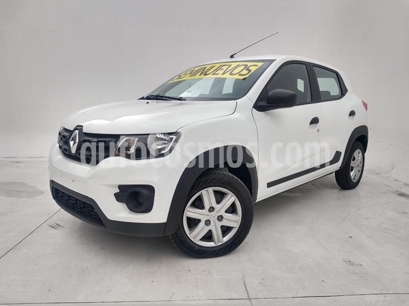 Renault Kwid Zen usado (2019) color Blanco precio $155,000