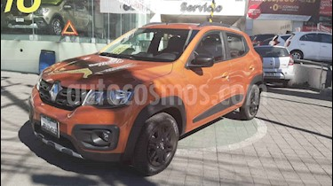 Renault Kwid 5p Outsider usado (2019) color Naranja precio $175,000
