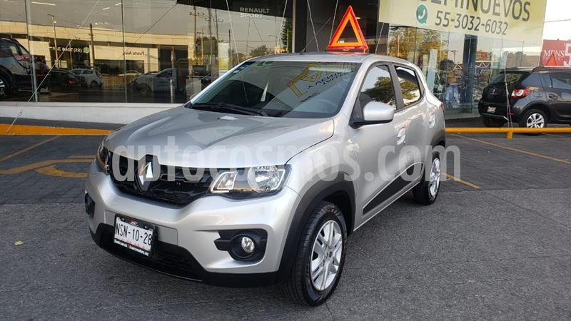Renault Kwid Iconic usado (2020) color Gris Estrella precio $175,000