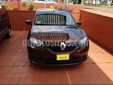 Foto venta Auto Usado Renault Logan - (2014) color Marron precio $280.000