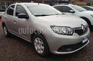 Foto venta Auto usado Renault Logan - (2014) color Gris Plata  precio $315.000